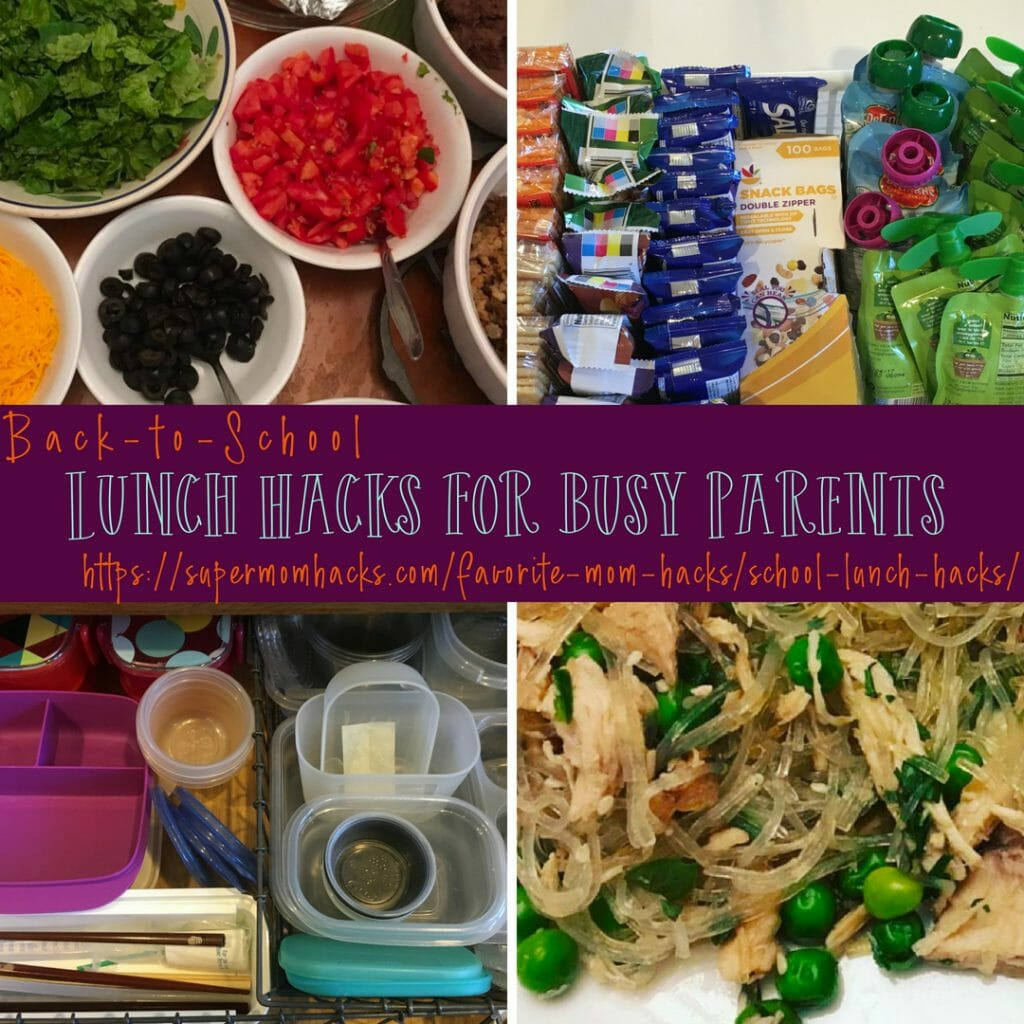 Want to make the daily grind of filling those lunch boxes a little easier? Add these school lunch hacks to your toolkit, and streamline your mornings.
