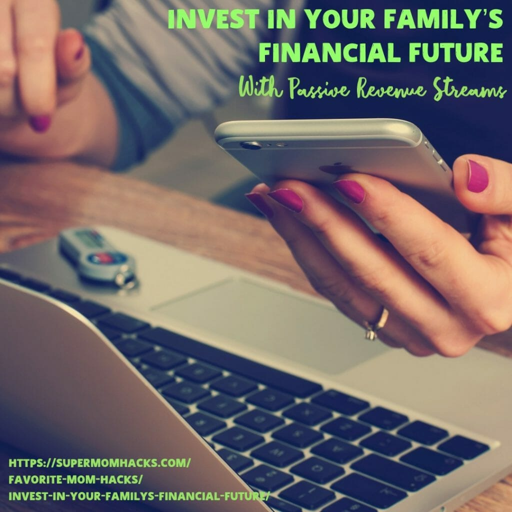 Is your famliy's financial future sound? Here are some ideas for how you can invest wisely to supplement your income, and ensure that foundation.