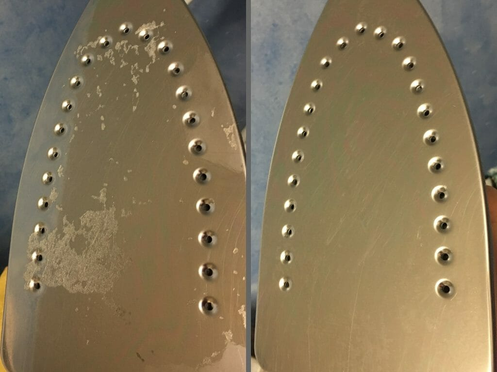 So you goofed in your crafting project, and your iron faceplate is now coated with goo. Here's how to remove adhesive from an iron without killing the iron!