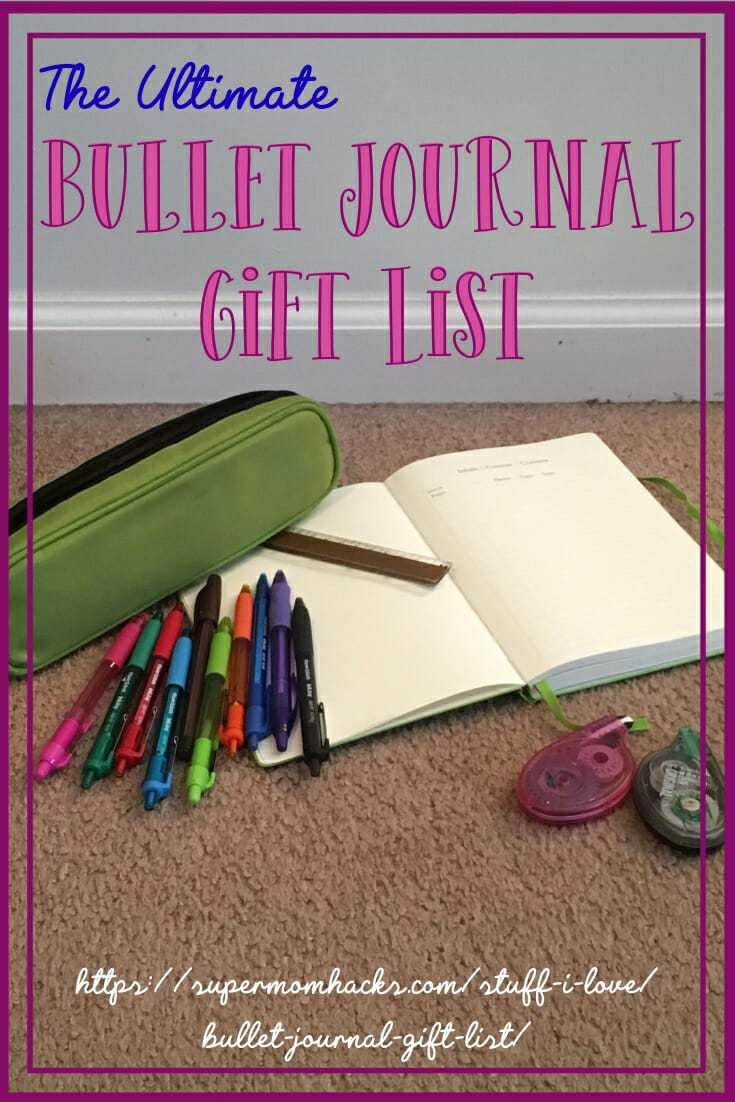 Need the perfect bullet journal gift ideas for that BuJo fan on your holiday list (or maybe for yourself?). This list has you covered!