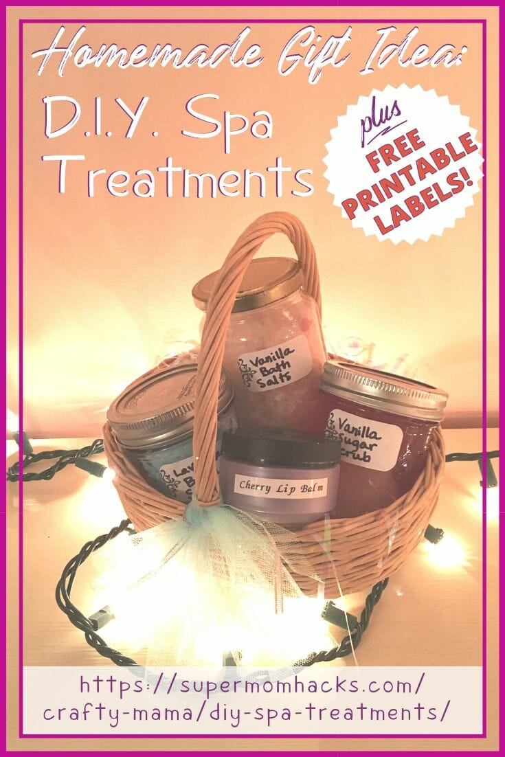 Homemade Christmas Gifts: DIY Spa Treatments