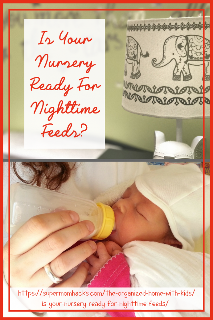 Is your nursery ready for nighttime feeds? Following these steps before Baby arrives will help ensure that EVERYONE in your house gets more sleep!