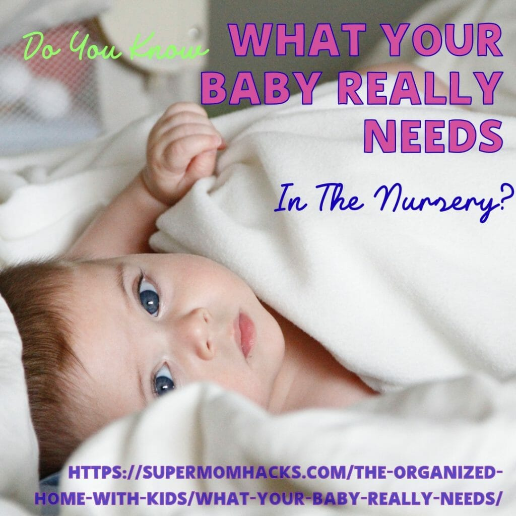 Your baby has a lot of needs - but what your baby really needs in the nursery is another matter! Make sure you cover these bases when planning Baby's room.