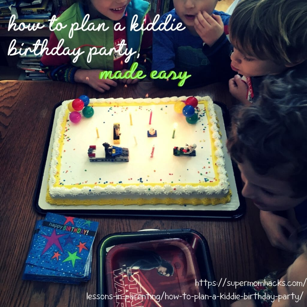 Stressed out about planning your child's next birthday bash? This checklist will show you how to plan a kiddie birthday party, the easy way!