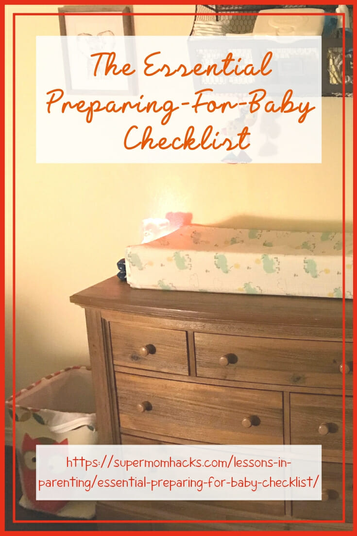 Are you expecting a new family member soon? This essential preparing-for-baby checklist covers all your must-haves when expecting a baby.