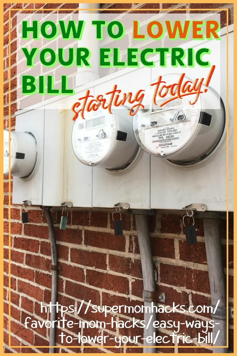 Whether you've got saving the planet on your mind, or just a recent case of sticker shock, this post has plenty of easy ways to lower your electric bill. Easy Ways to Lower Your Electric Bill (Starting Today!) - - SuperMomHacks | lower your electric bill | save on electricity | save on home electric | how to save on electric bills | how to lower home electric bills | save money on | cut electric bills | how to reduce home electricity use | how to lower home energy costs | cut home electric costs