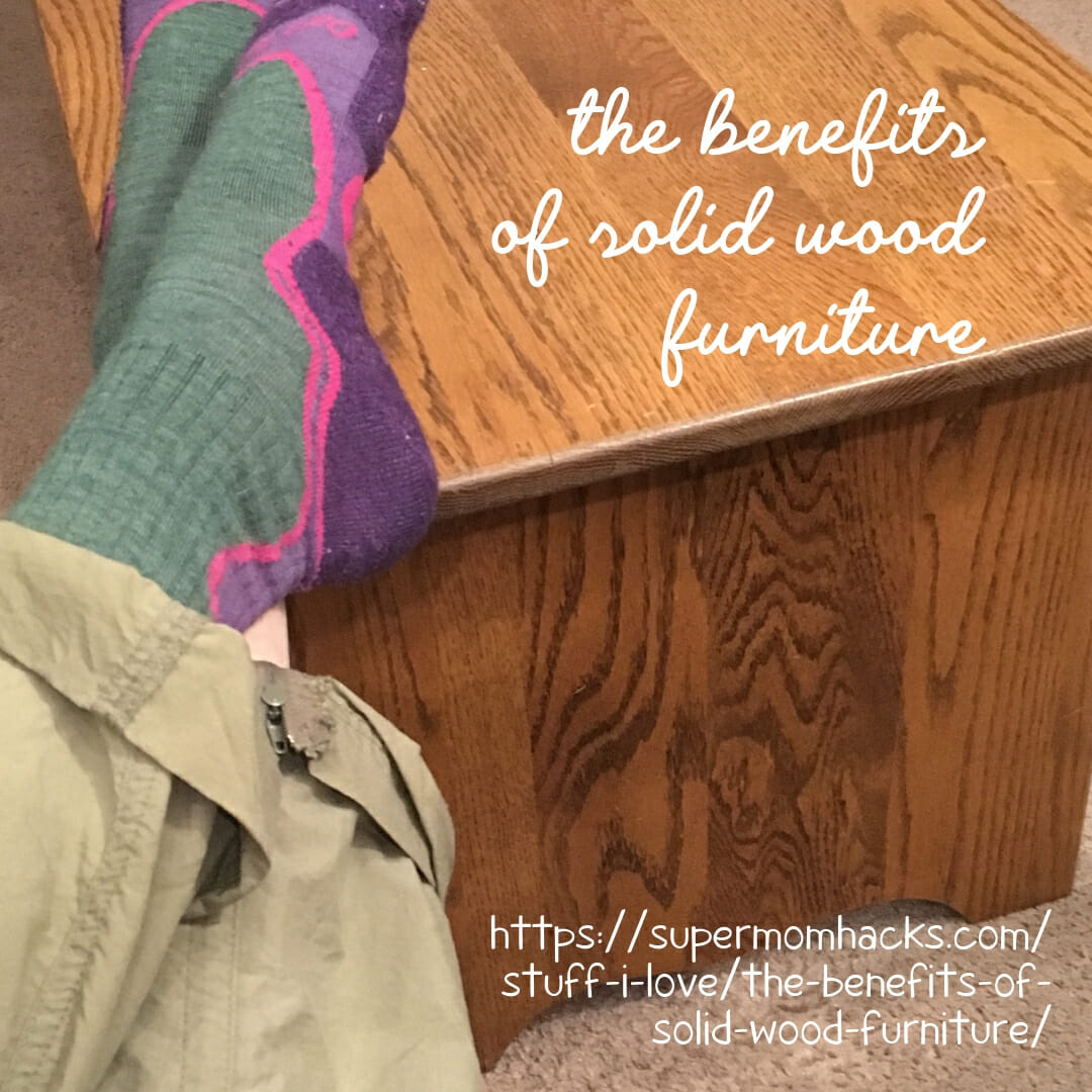 Are you a solid wood furniture fan? We love using wood in our home. If you haven't considered the benefits of solid wood furniture before, it's high time.