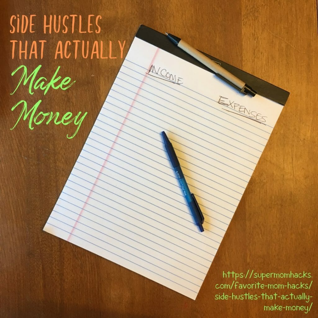 It can be hard for full-time parents to juggle child care with reentering the workforce. Side hustles that actually make money are a great place to start.