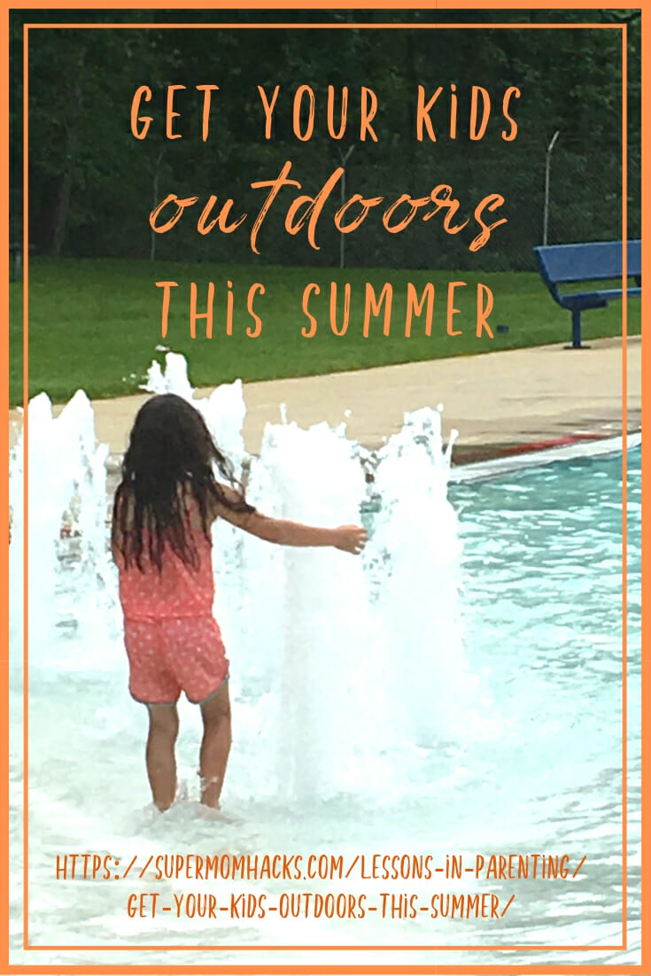 Getting your kids outdoors in the summertime can be challenging, unless you make it worth their while. Here's how to tempt them away from their devices.