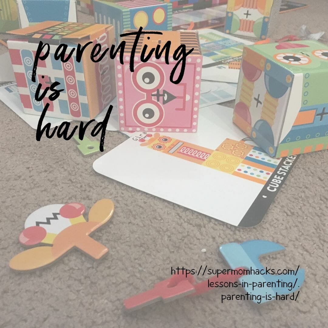 I used to think adulting was hard. Then I tried parenting. When parenting is hard, how do you figure out what's best for your child in the long run?