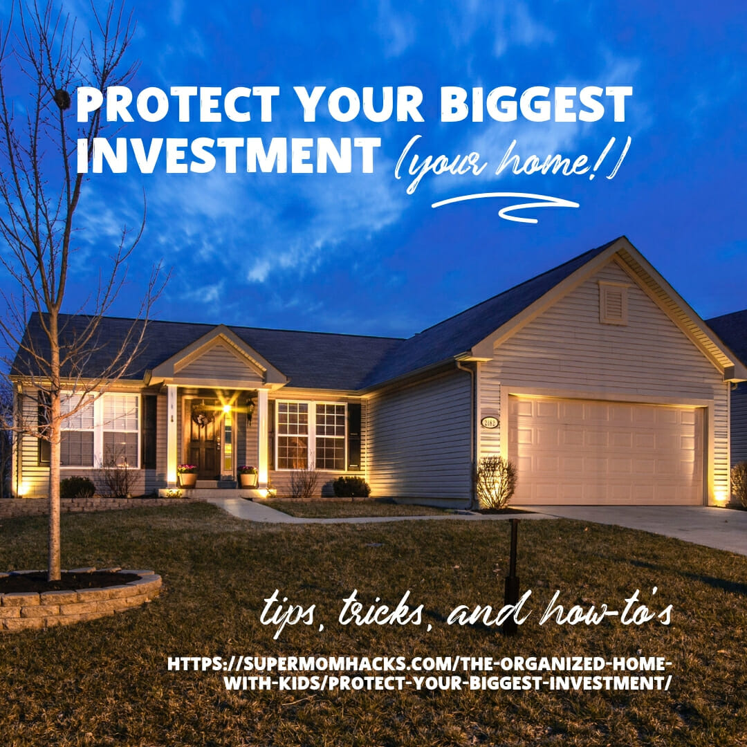 As a parent, you want to do all you can to keep your kids safe. But do you protect your biggest investment - your family's home? Here's why you should.