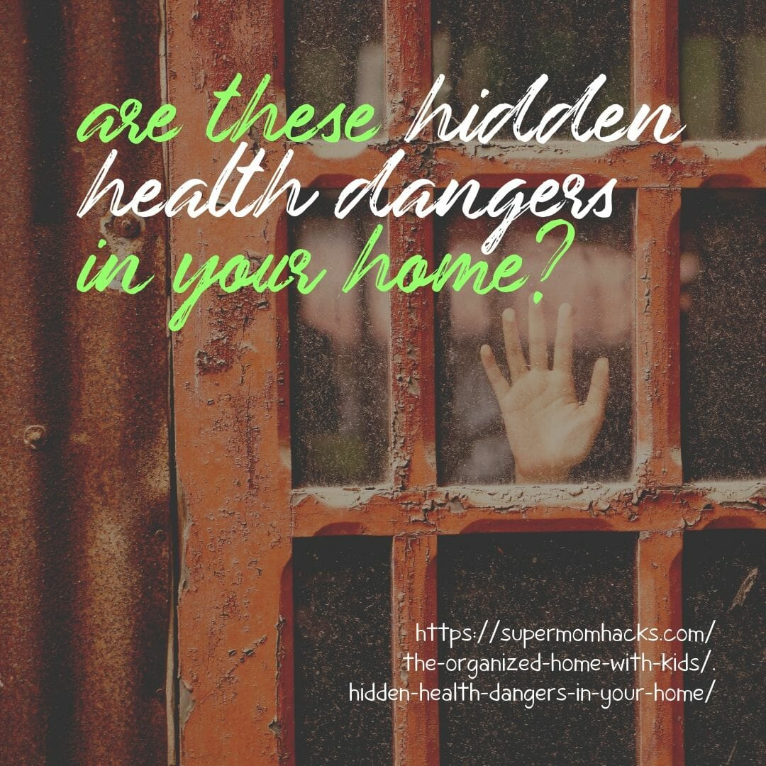 You work so hard to keep your kids safe when they're away from home; but how well do you protect them from these hidden health dangers in your home?