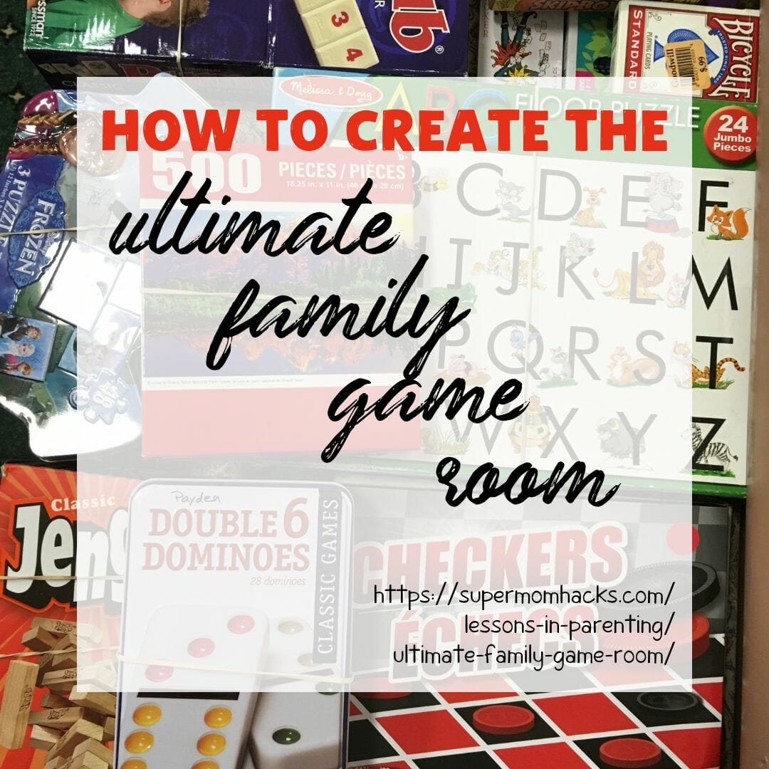 Want to know where your tweens/teens are on weekends? Set up the ultimate family game room in that unused room, and you know they'll all be at your place.