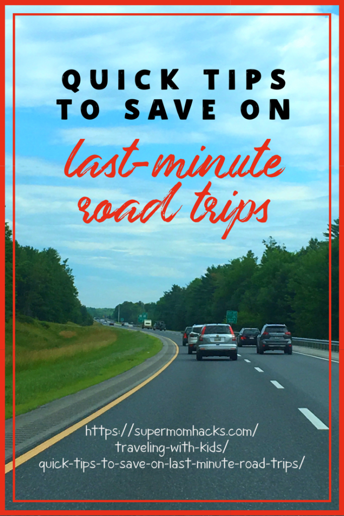 Looking to squeeze in one final getaway before the kids are back to school? We've used all these tips to save on last-minute road trips this summer!