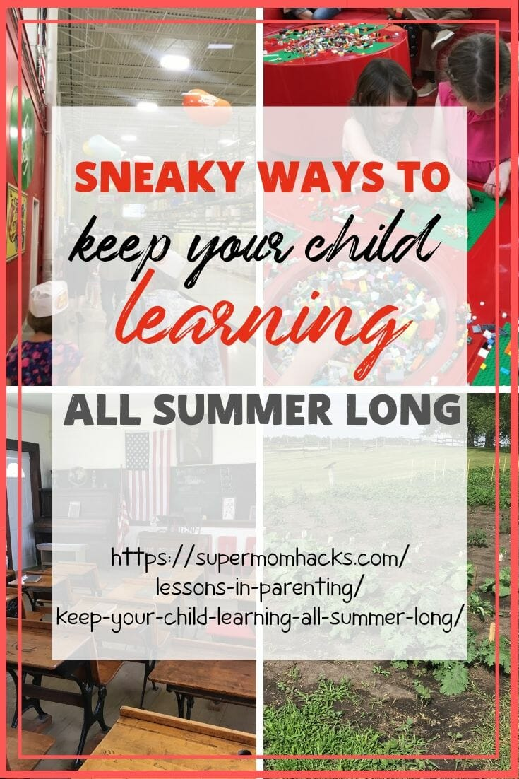 Want to keep your child learning all summer long? As a former teacher married to a teacher, we have this one down; our tips will show you easy it can be.