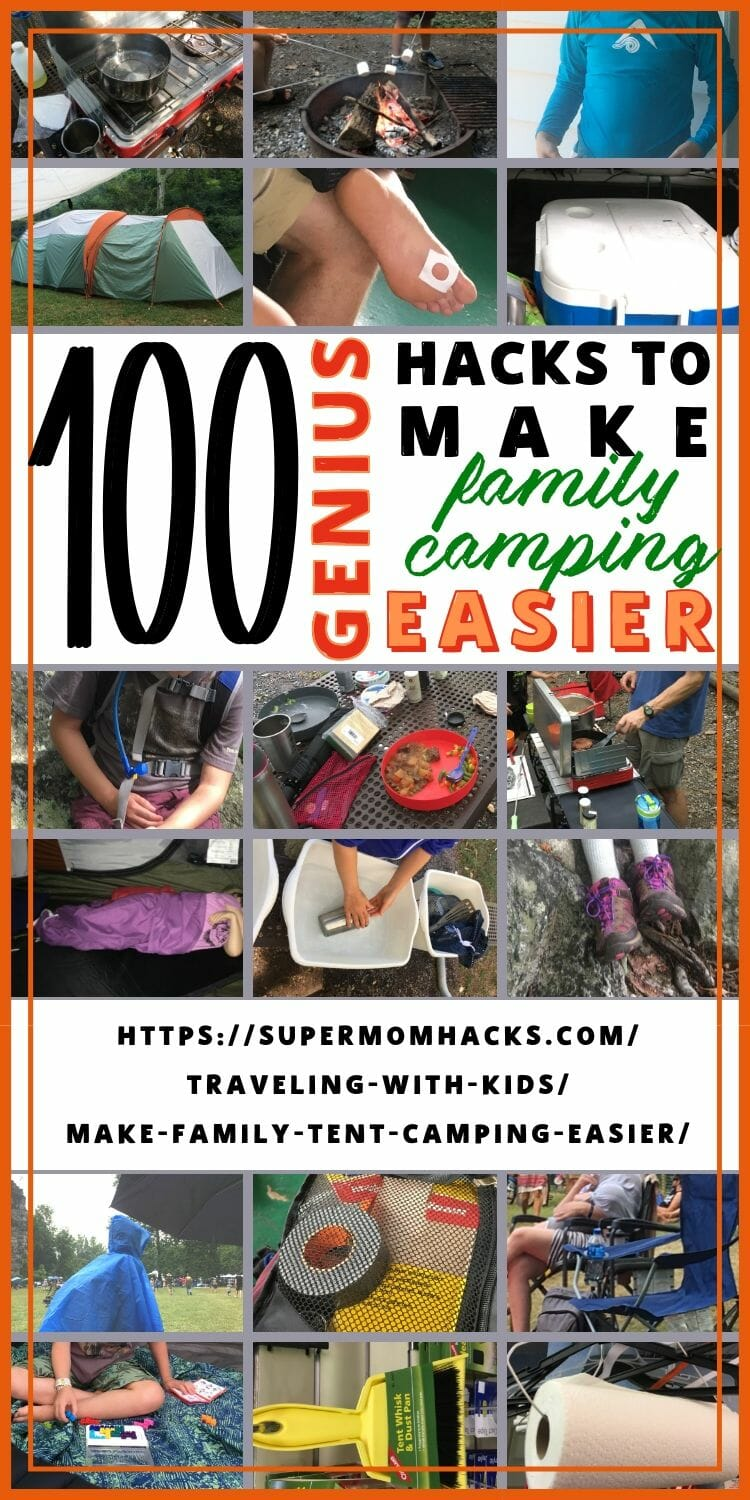 Whether you're new to camping or are experienced campers trying to add kids into the mix, these 100 must-have tips will make family tent camping easier.