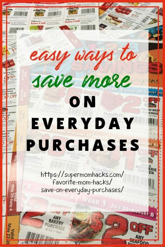 Who doesn't like to save a little money, especially on those things we have to buy anyway? These quick tips will help you save on everyday purchases.