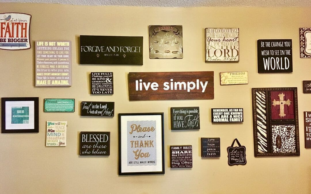 It's hard to teach your child values amid the noisy backdrop and short attention spans of 21st-century life. Here's how crafting a family tagline can help.