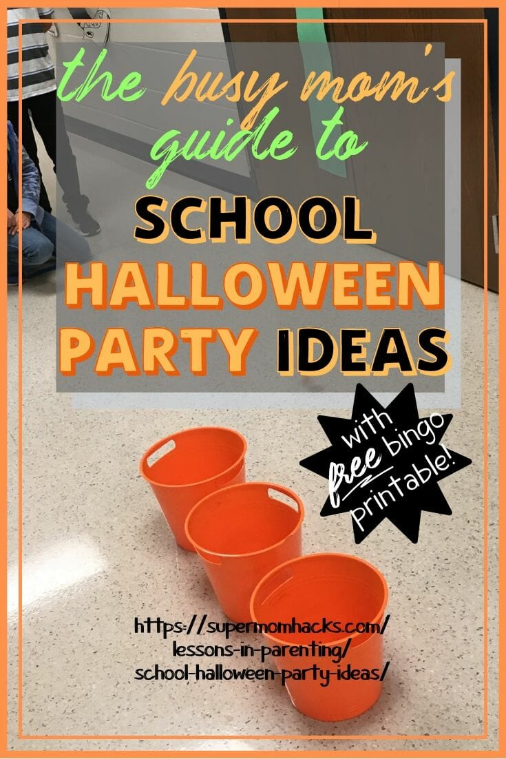 The Busy Mom\'s Guide to School Halloween Party Ideas