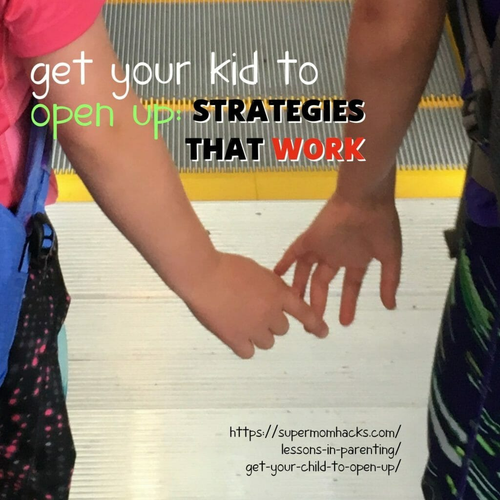 Struggling to get your child to open up to you? Wondering how to get your kids to talk to you more? These proven strategies will help.