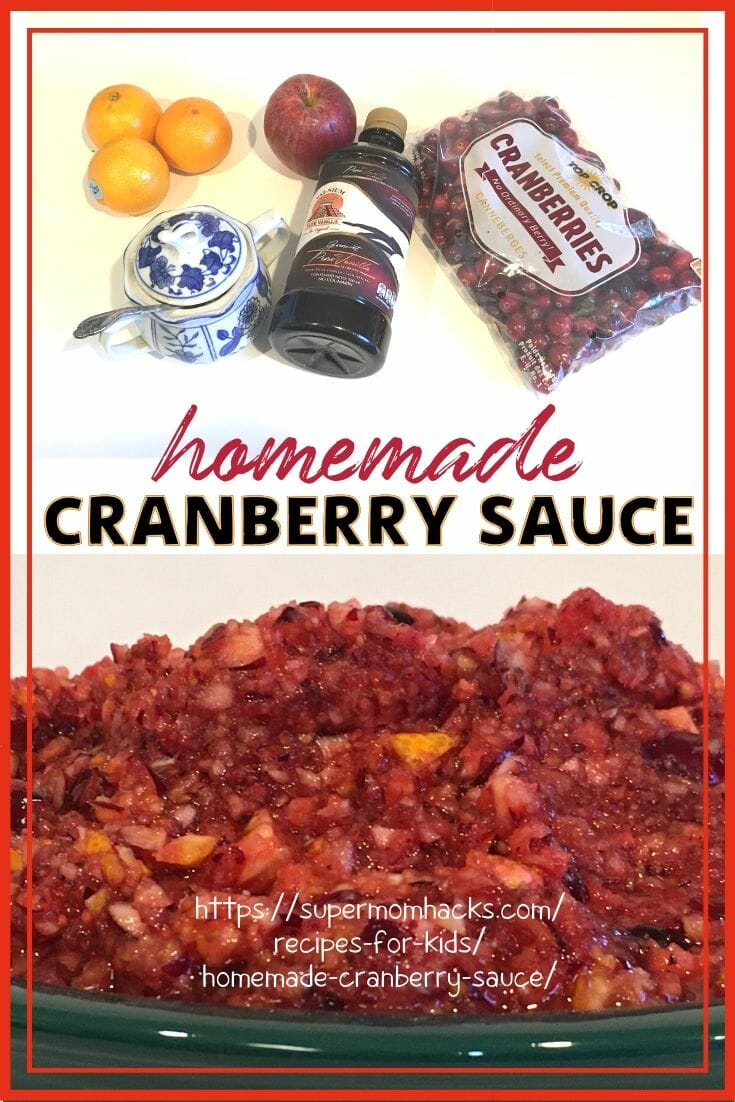 No-Cook 15-Minute Homemade Cranberry Sauce