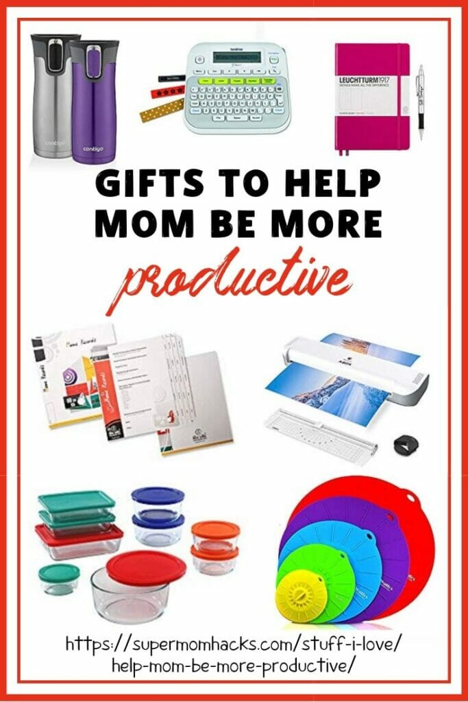 What mama couldn't use a few extra hours in the day? These gift ideas are among my fave hacks to help mom be more productive every day.