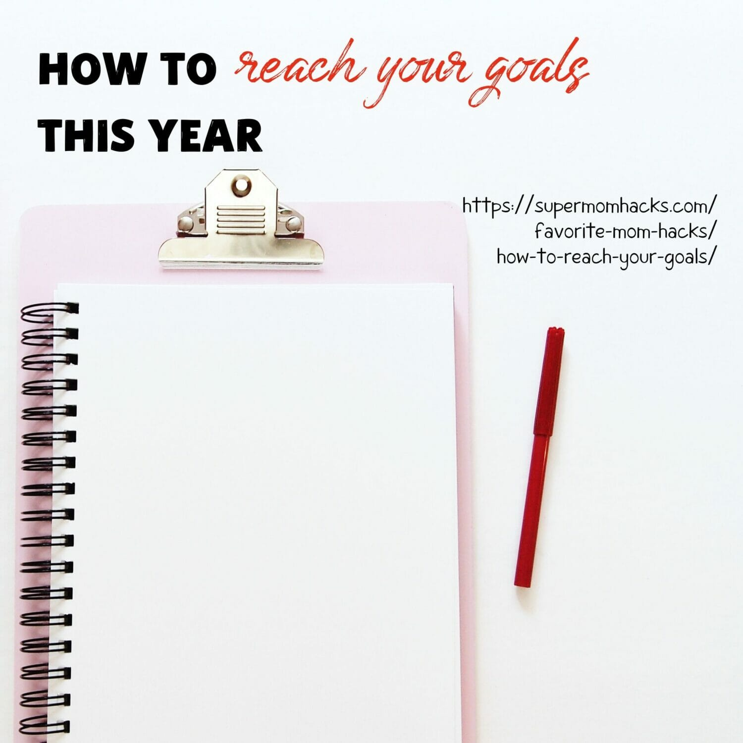 Want to FINALLY reach your goals? This step-by-step guide on how to reach your goals (plus free printable!) will make this the year you slay your goals!