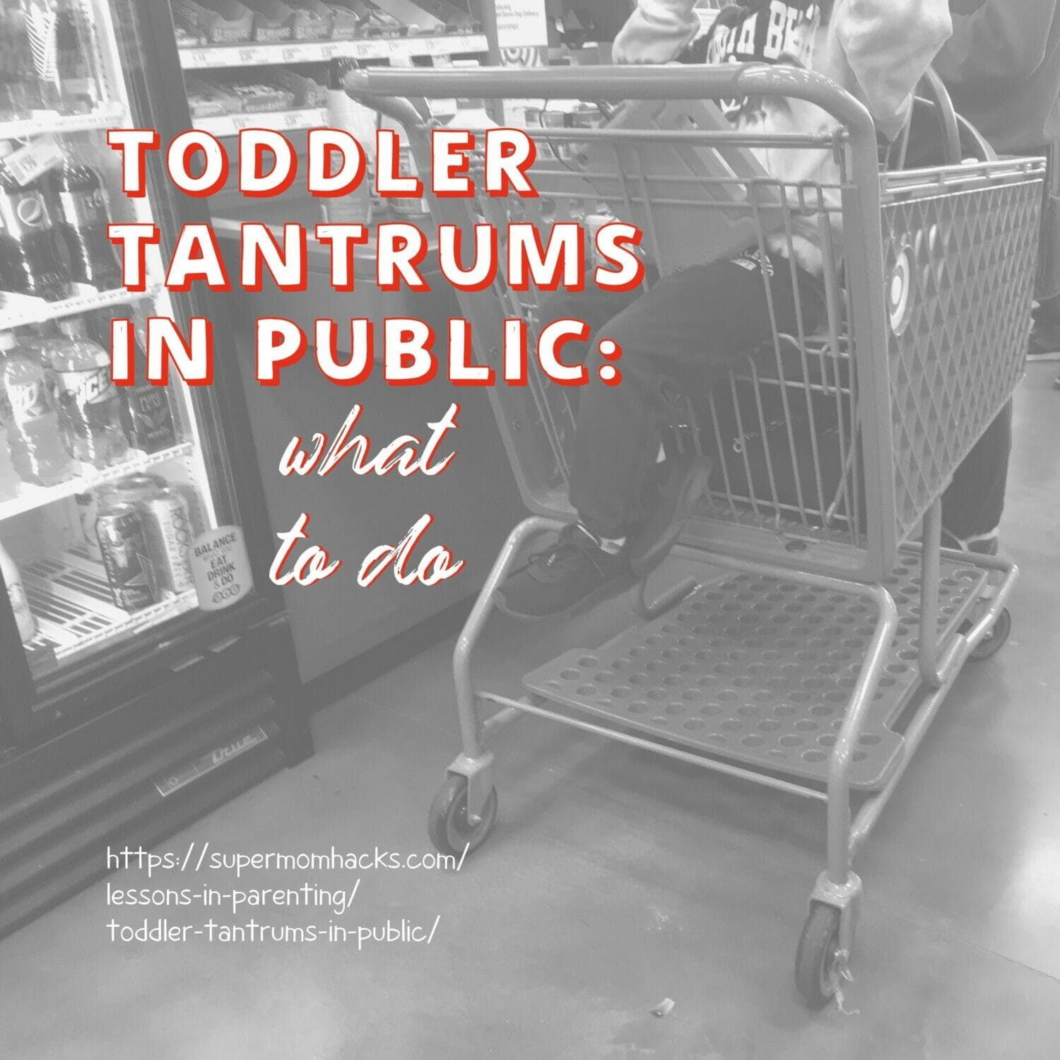 Ever mortified by toddler tantrums in public? As a mama who's been around the block a few times, here's how to end them for good.