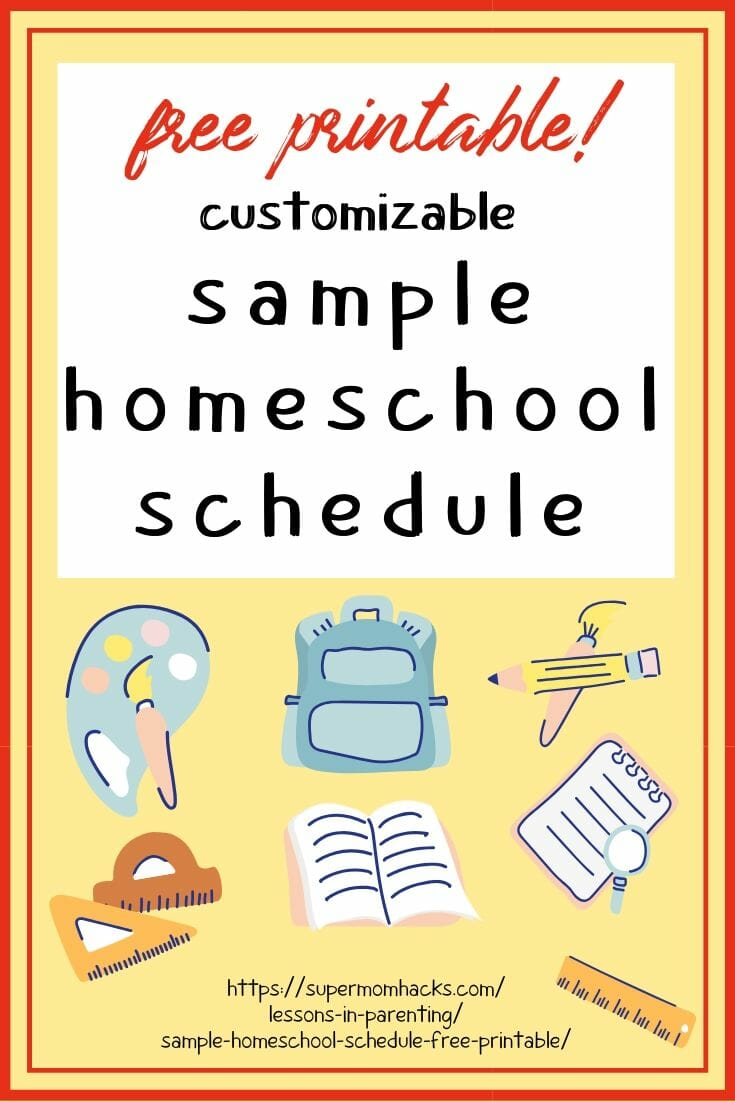 Is your family trying to learn how to homeschool on the fly, like we are? I'm sharing our sample homeschool schedule to help others get started.