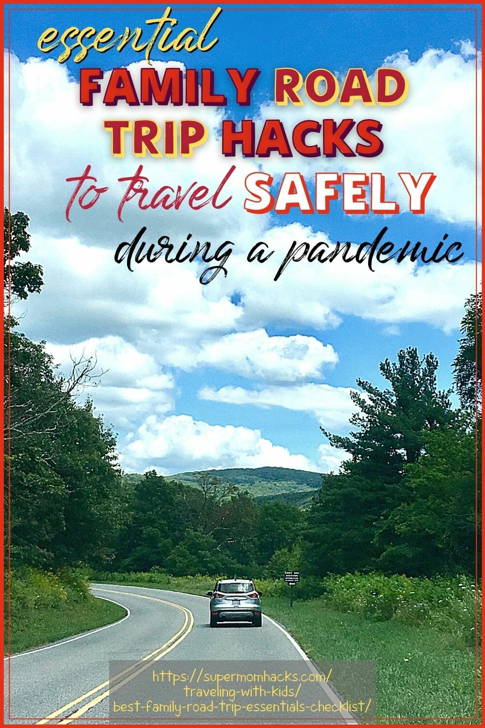 Planning a family road trip? These family road trip essentials and road trip hacks will ensure a smooth trip in these uncertain times.