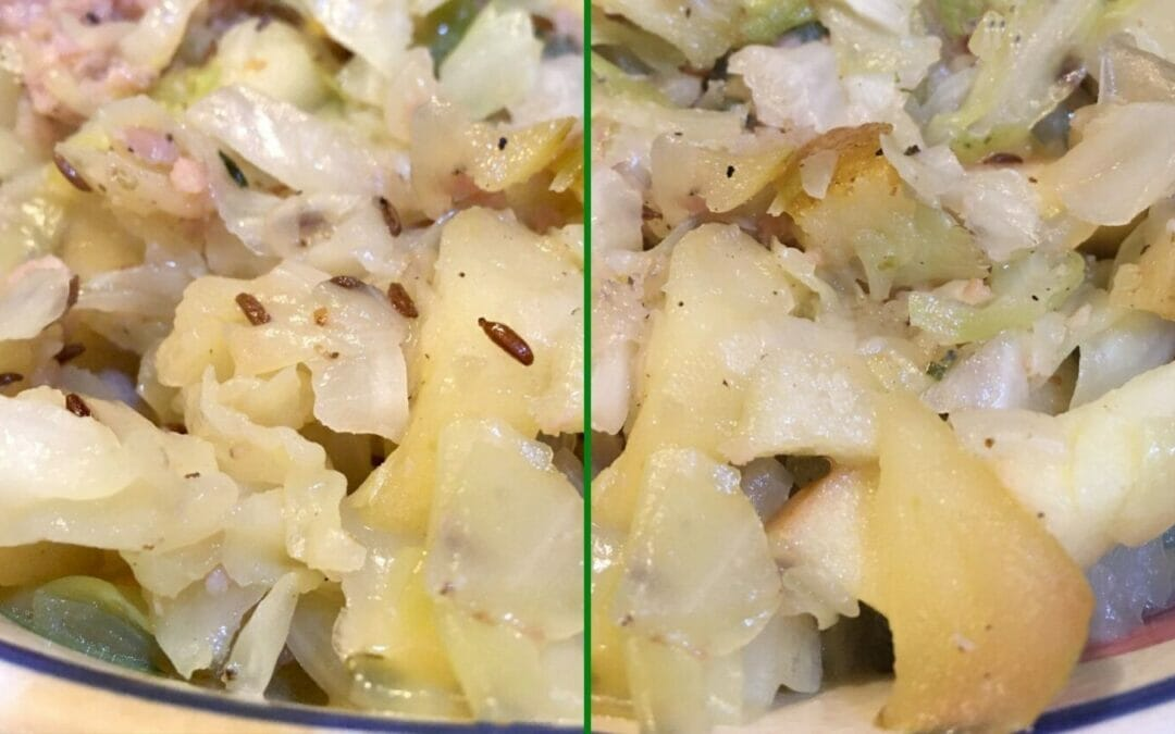 My mama's sweet cabbage recipe is the perfect fall side dish, but tweaking the ingredients transforms it into a tasty 30-minute one-pot meal.