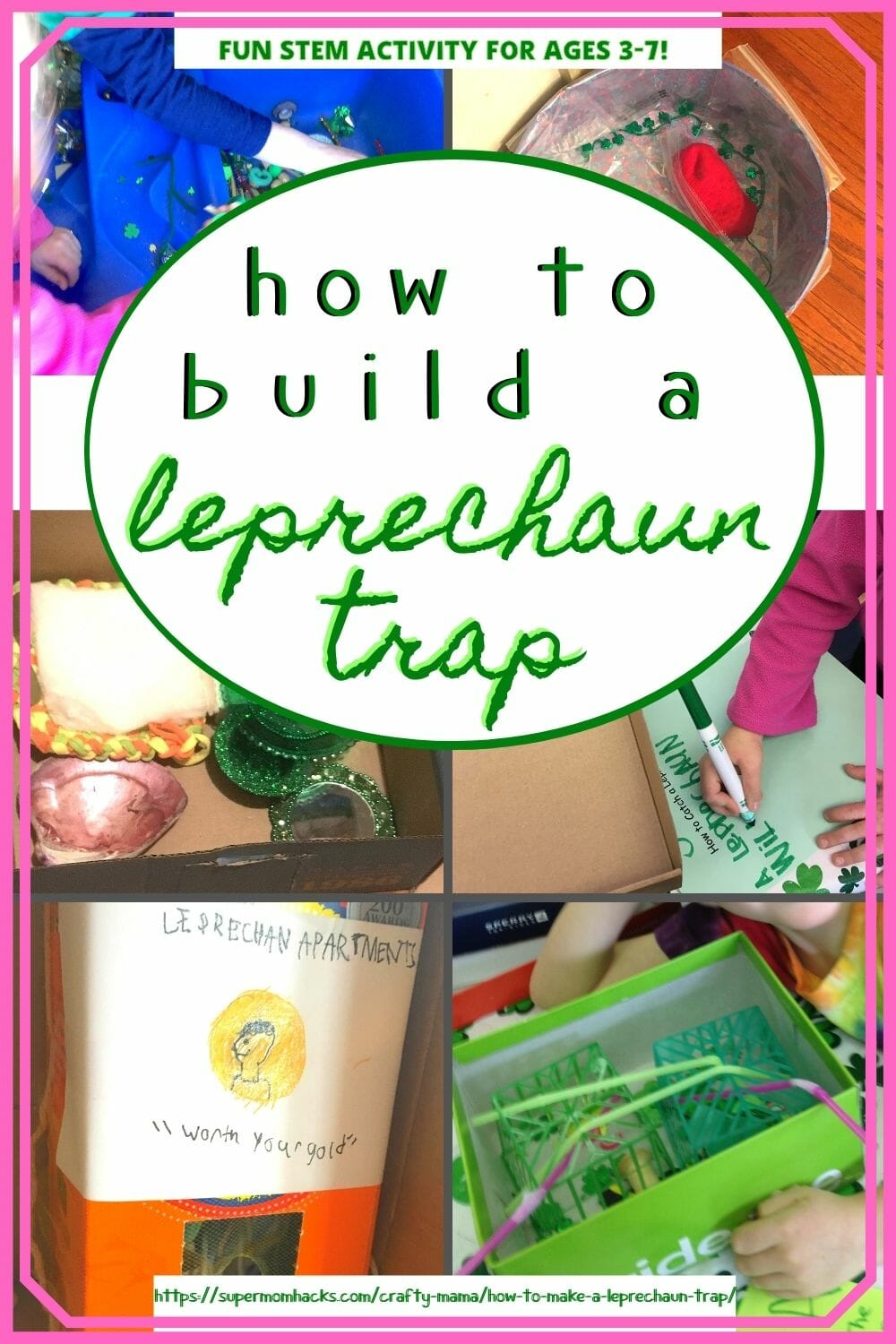 You don't need to know how to make a leprechaun trap to guide your littles through this super-fun STEM activity for preschoolers!